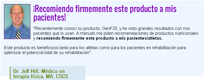 GenF20 Plus Testimonio, Dr. Jeff Hill