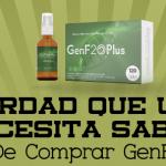 GenF20 Plus – La Verdad Que Usted Necesita Saber Antes de Comprar GenF20 Plus