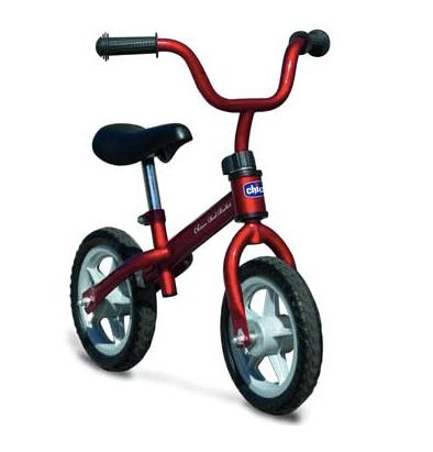 Bicicleta de entrenamiento para equilibrio Chicco Red Bullet