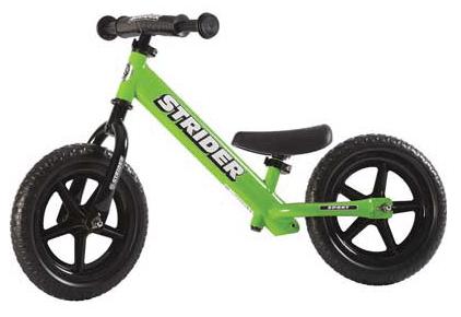 Bicicleta deportiva de equilibrio para niños Strider 12