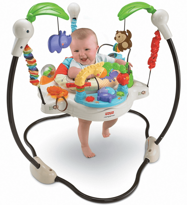 Brincolines para bebés - Fisher-Price Luv U Zoo Jumperoo