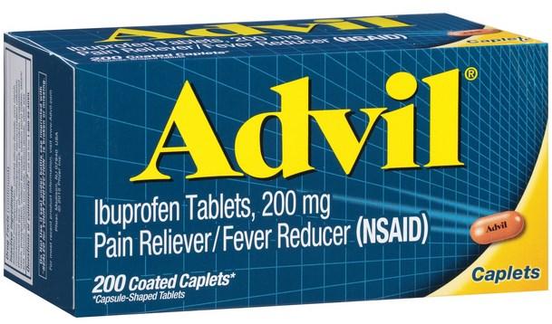 Advil - Medicamentos para el dolor de muelas