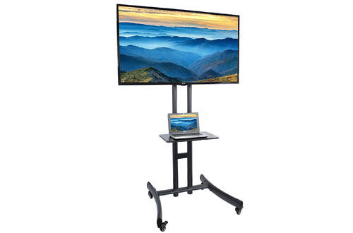 VIVO TV Cart para LCD LED Plasma Flat Panel Stand Mount
