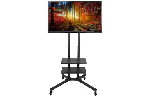 VIVO TV Cart para LCD LED Plasma Flat Panel Stands