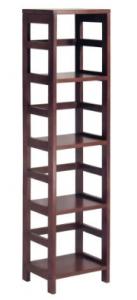 Estantería estrecha de madera de 4 estantes Winsome