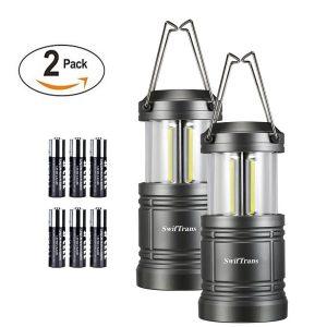 Camping Lantern- Swiftrans 2 Pack LED Lantern