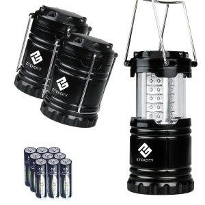 Linterna LED portátil para exteriores Etekcity de 3 paquetes