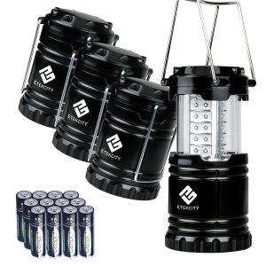 Etekcity 4 Pack Portable LED Linterna para acampar