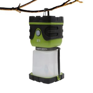 Linterna LED portátil para camping LE 1000lm regulable