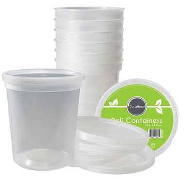 4. DuraHome-Deli contenedores de almacenamiento de alimentos