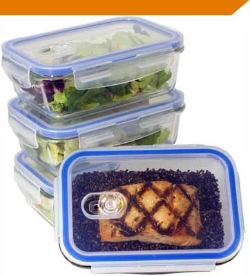 9. Varios Contenedor de almacenamiento de alimentos en casa