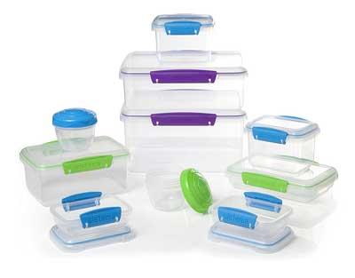 7. Contenedor de almacenamiento de alimentos Sistema Multi Piece
