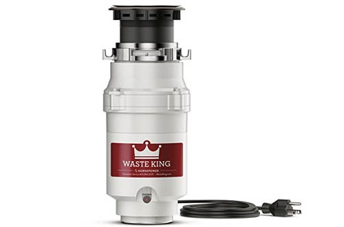 Waste King Legend Series 1/3 HP Eliminación continua de basura