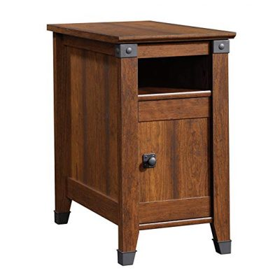 3. Sauder Carson Forge Side Table