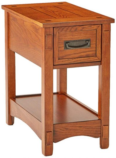 1. Muebles de diseño exclusivo Breegin Chairside End Table