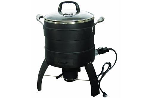 Freidora de pavo eléctrica sin aceite de Butterball y asador