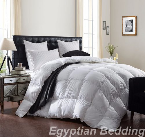 LUXURIOUS 1200 Thread Count GOOSE DOWN Edredón