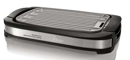 4. Oster DuraCeramic Reversible Grill / Griddle