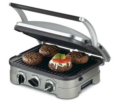 Las mejores planchas eléctricas - Cuisinart GR-4N 5 en 1 Griddler