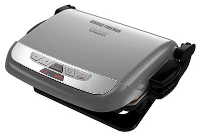 6. George Foreman Multi-Plate Evolve Grill