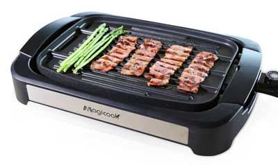 2. Magicook Electric Reversible Grill Griddle