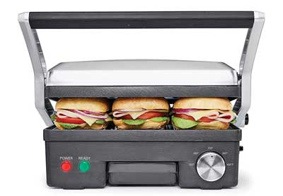 1. BELLA 4-in-1 Contact Grill Grill
