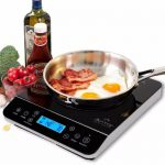 Duxtop 9600LS LCD Portable Induction Cooktop, 1800W