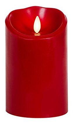 Luminara Canela Perfumada Pilar Borgoña