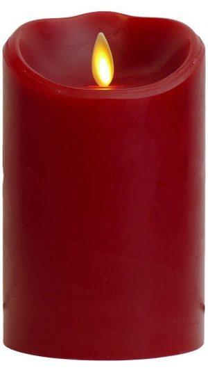 Luminara Flameless Candle: Vela de llama con olor a canela