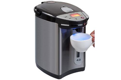 Calentador eléctrico de agua Secura LCD y calentador