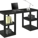 Ameriwood Home Parsons Deluxe Desk (Black Oak)