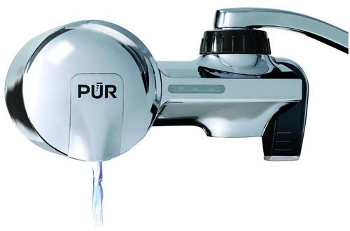 UR PFM400H Chrome Montaje horizontal del grifo de filtración de agua