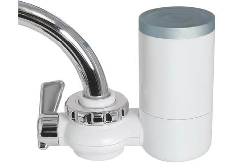 Filtro de agua de grifo, filtración de agua de 8 etapas Montaje de grifo, 7 tipos diferentes de interfaces