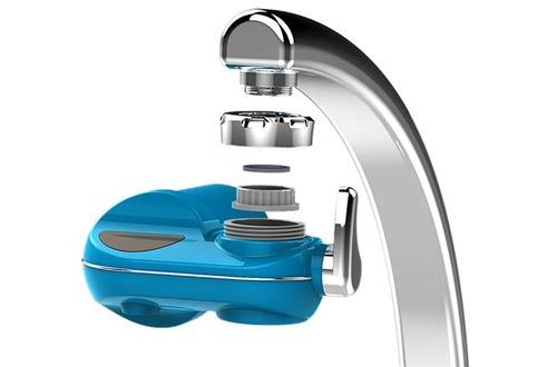 Powpro Fwat PP-JTP05 Faucet Horizontal Filtro de agua de 5 etapas Sistema de filtro de agua Mieral Filter