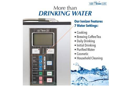 Air Water Life Aqua Ionizer Deluxe 9.0 | El mejor sistema de filtración de agua alcalina para el hogar