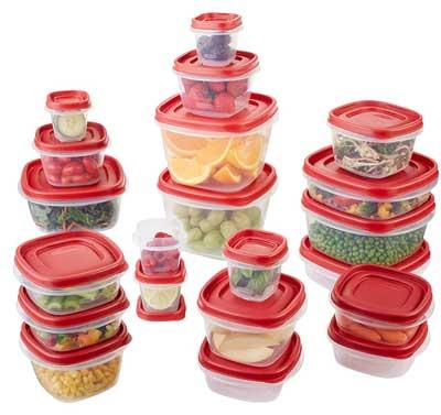 10. Contenedor de almacenamiento de alimentos Rubbermaid