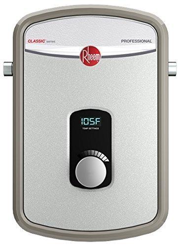 Rheem RTEX-13 Calentador de agua residencial sin cámara de calefacción de 240 V