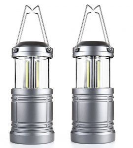 2 Pack Camping Lantern Ultra Bright Portátil Exterior