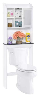 Best Choice Products Mueble de baño de madera para almacenamiento