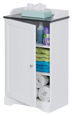 Best Choice Products Armario organizador de baño moderno de 3 estantes